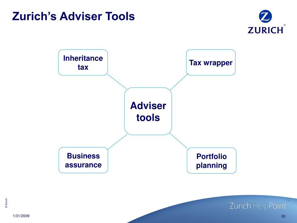 Zurich's Adviser Tools