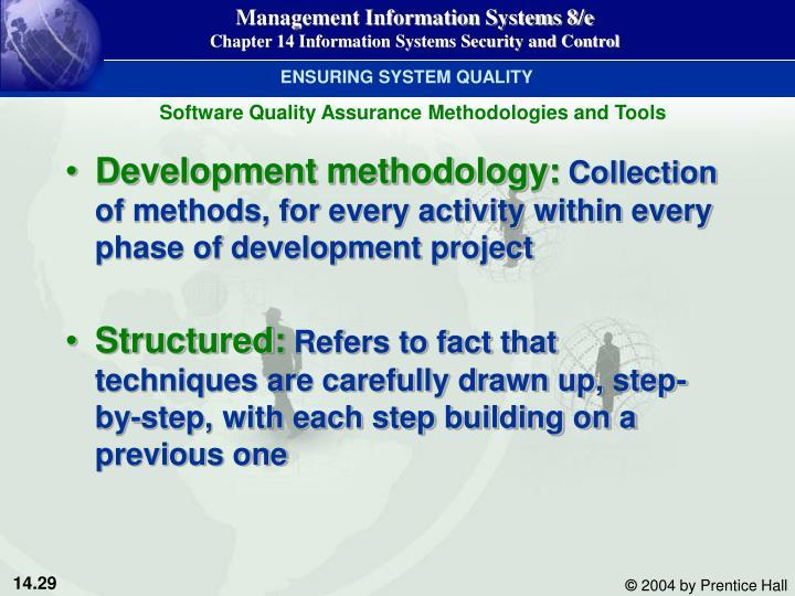 ENSURING SYSTEM QUALITY