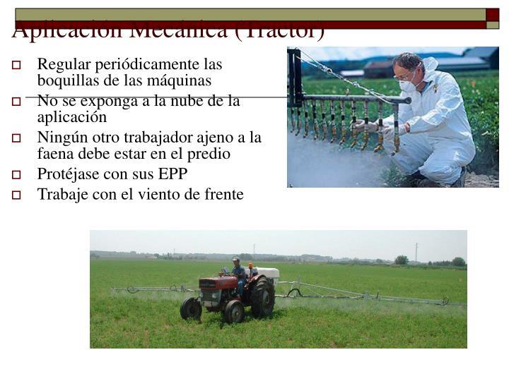 Aplicación Mecánica (Tractor)
