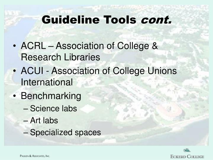 Guideline Tools
