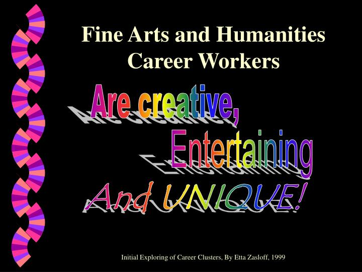 Fine Arts and Humanities