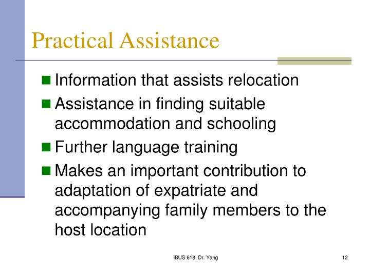 Practical Assistance