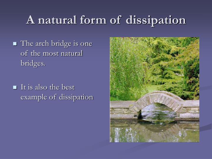 A natural form of dissipation
