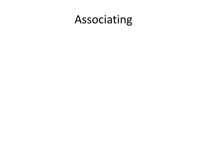 Associating