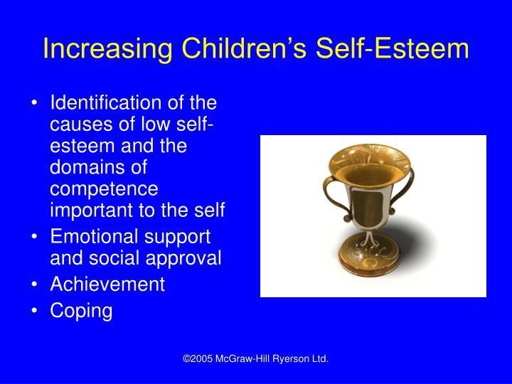 Increasing Children's Self-Esteem