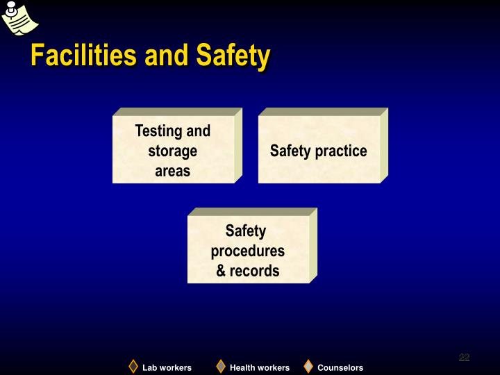Facilities and Safety