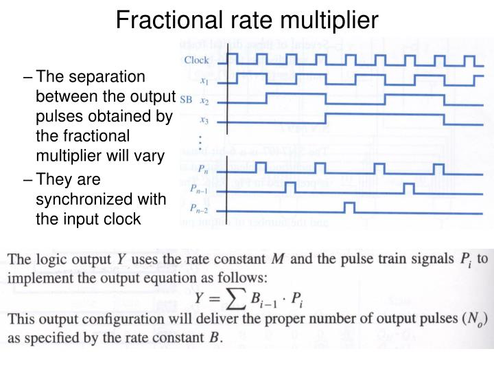 Fractional rate multiplier