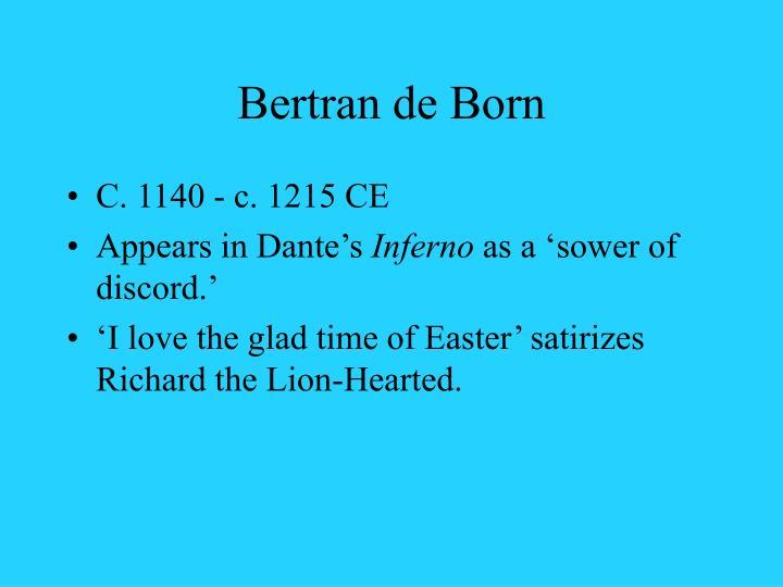 Bertran de Born