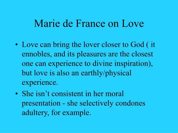 Marie de France on Love