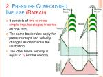 2 pressure compounded impulse rateau