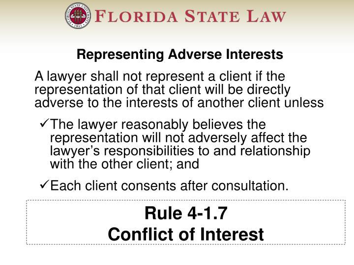 Rule 4-1.7