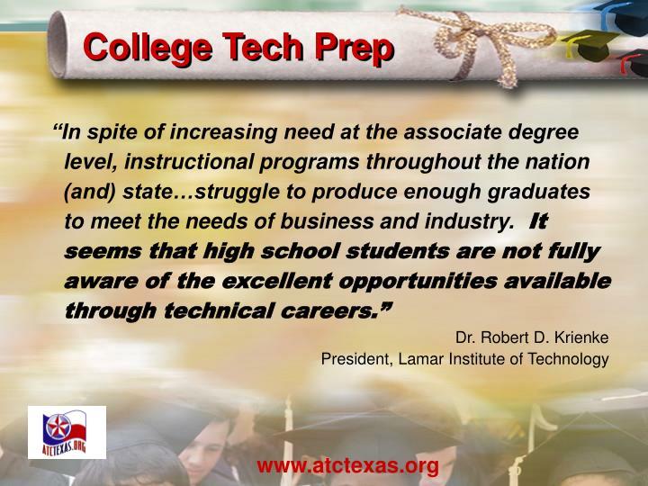 College Tech Prep