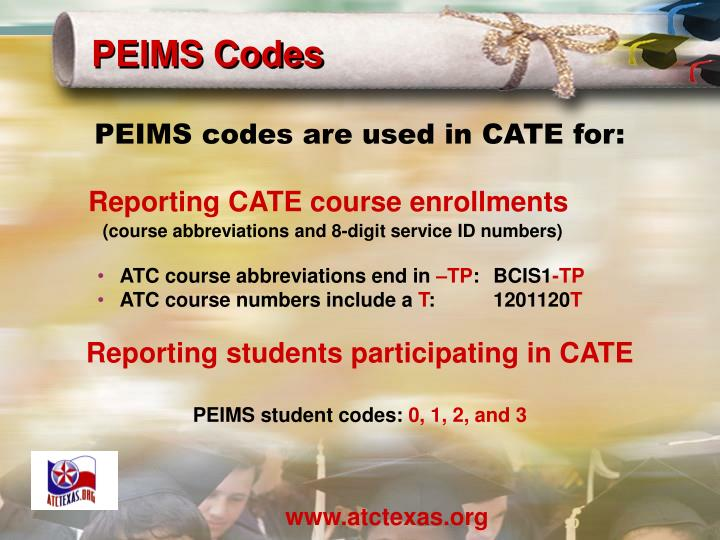 PEIMS Codes