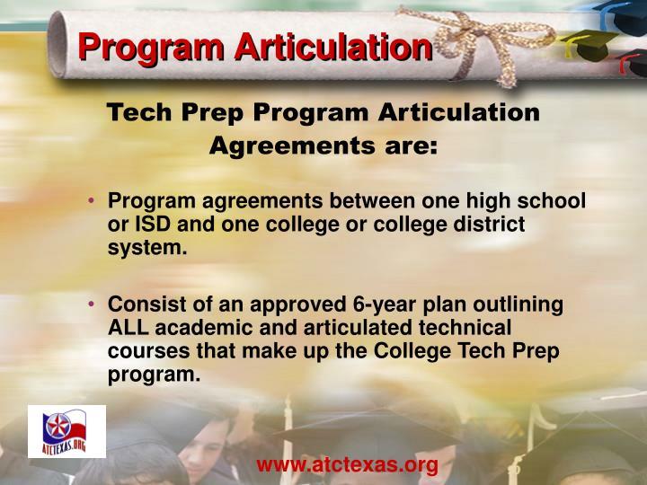 Program Articulation