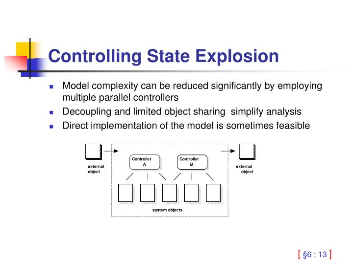 Controlling State Explosion