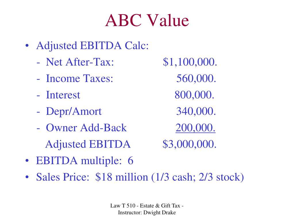 ABC Value
