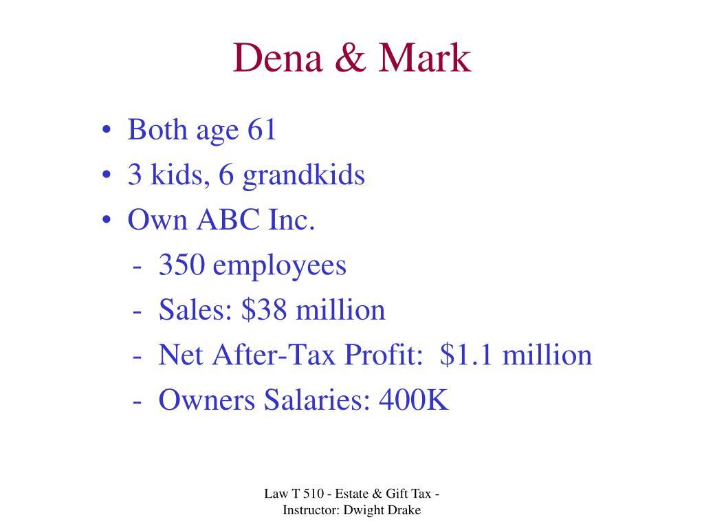 Dena & Mark