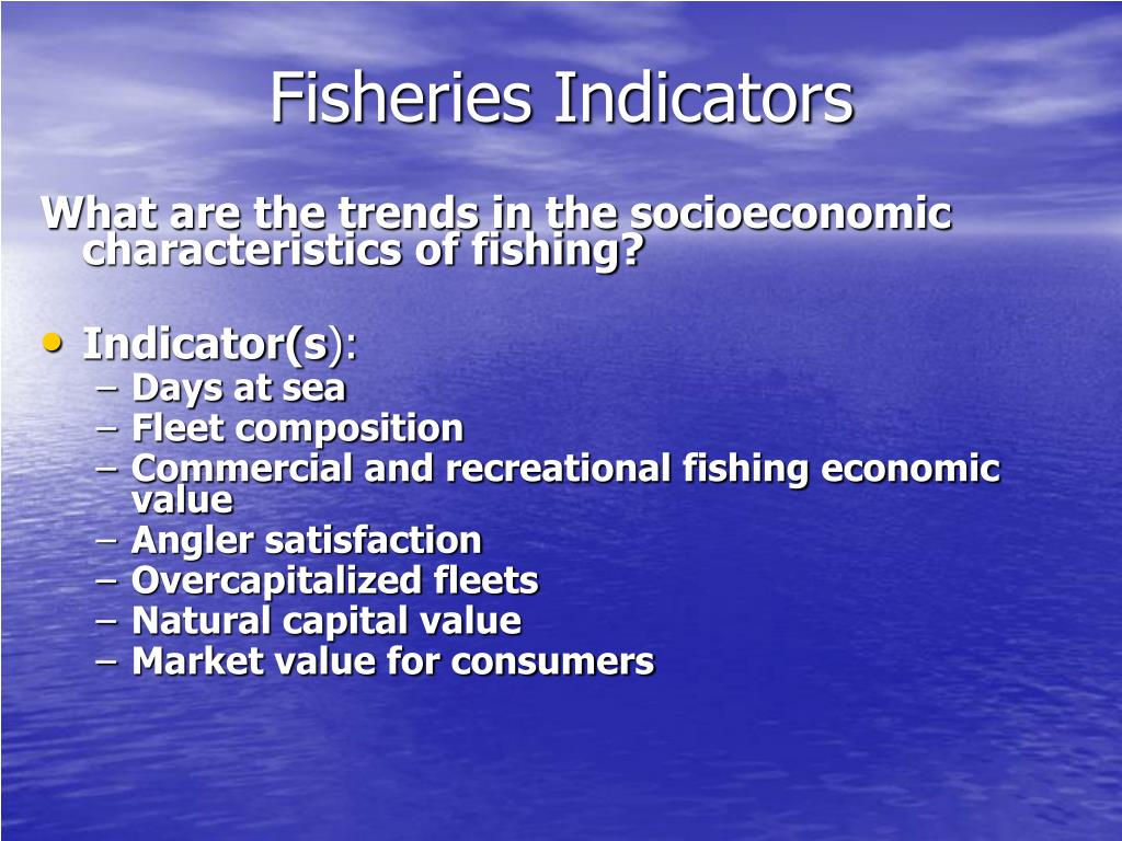 Fisheries Indicators