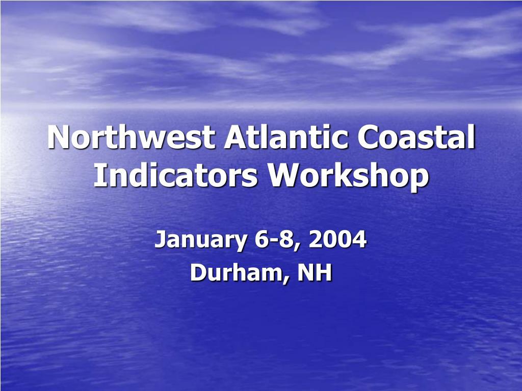 Northwest Atlantic Coastal