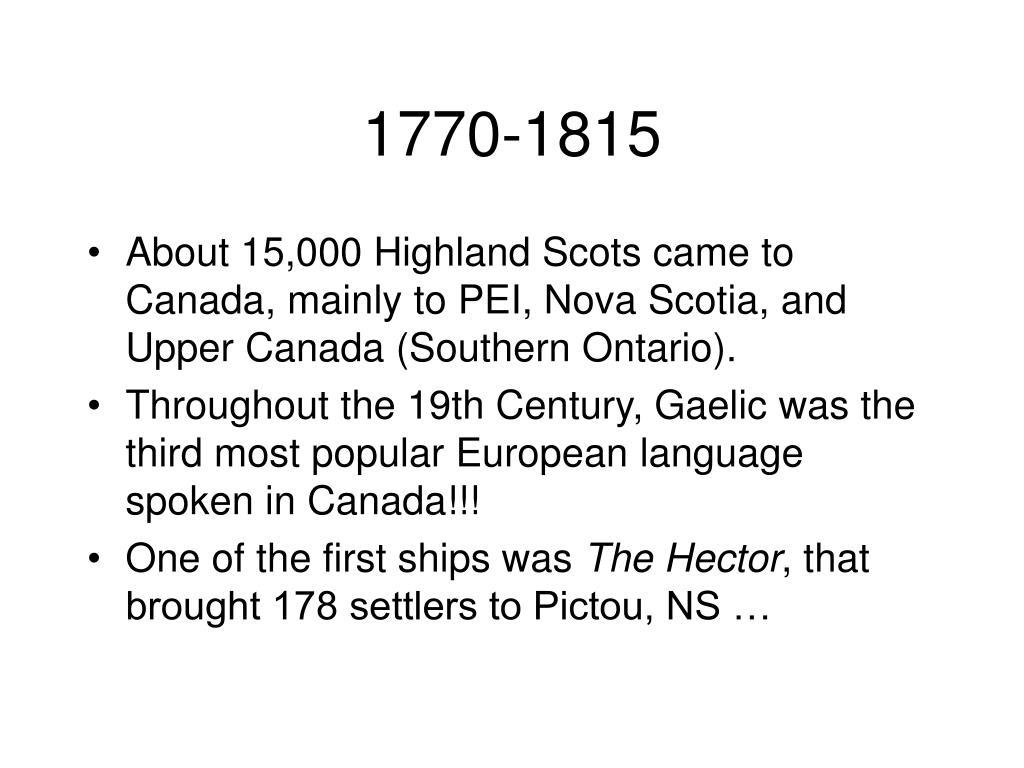 1770-1815