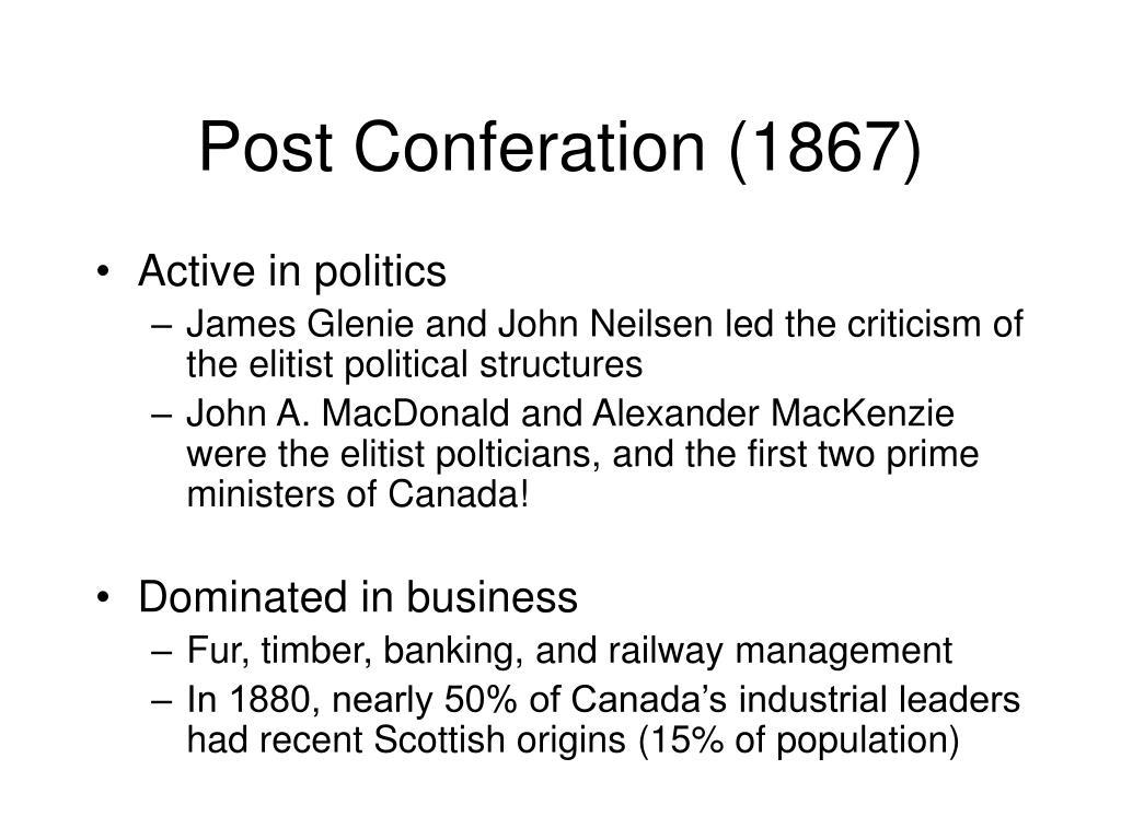 Post Conferation (1867)