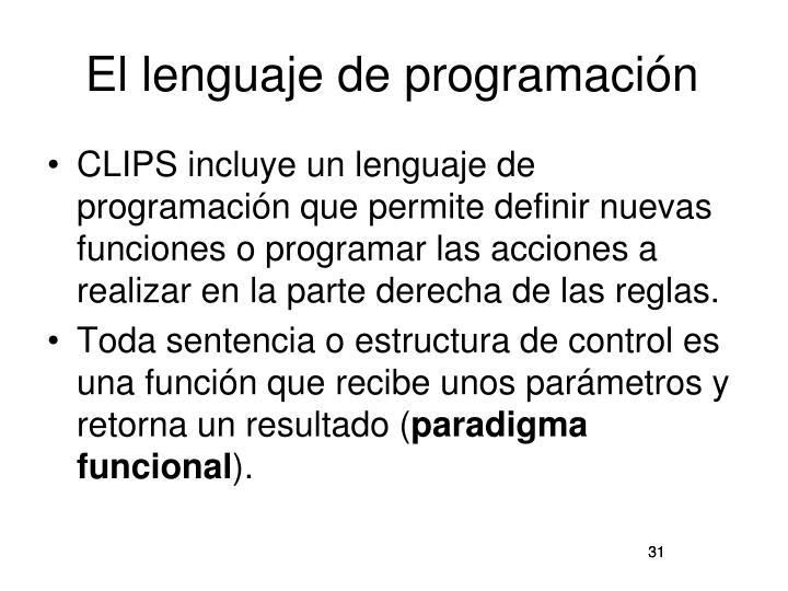 El lenguaje de programación