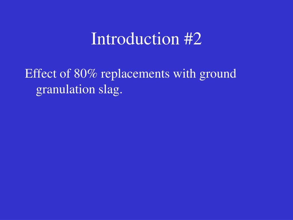 Introduction #2