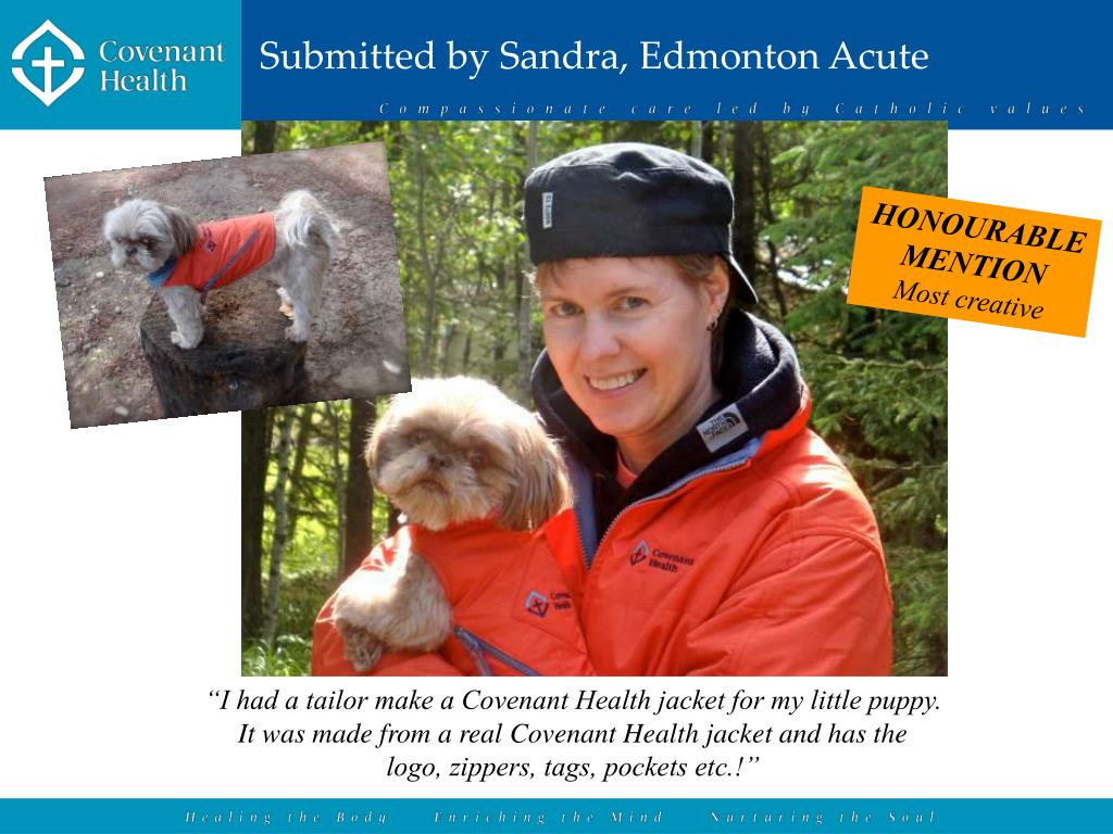 Submitted by Sandra, Edmonton Acute