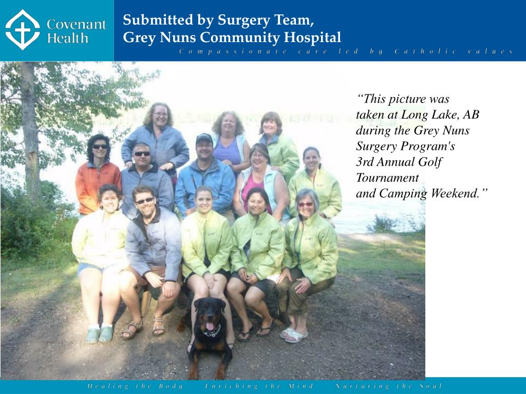 Submitted by Surgery Team,
