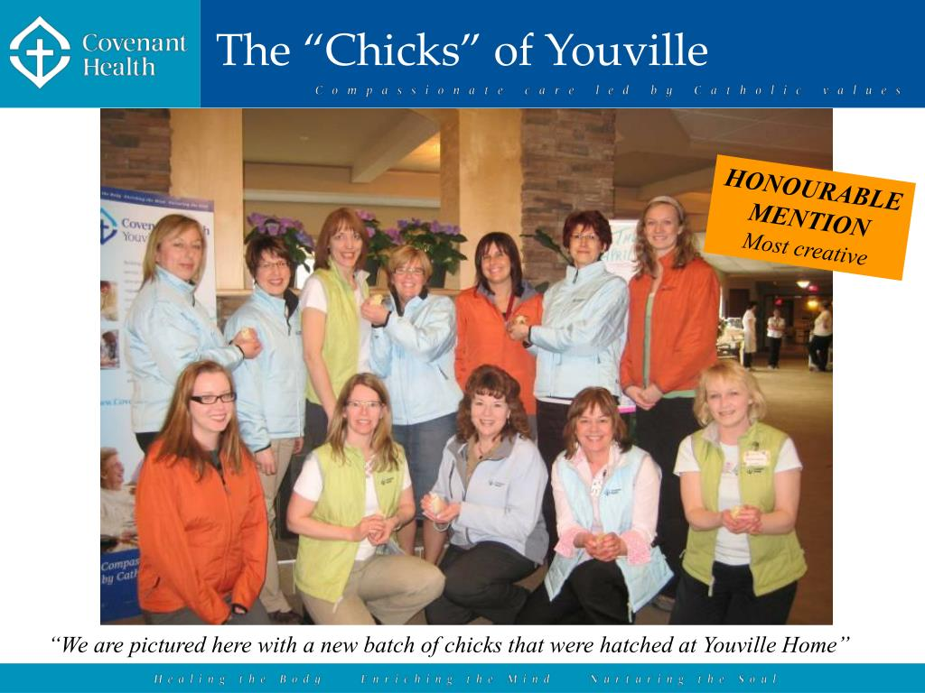 """The """"Chicks"""" of Youville"""