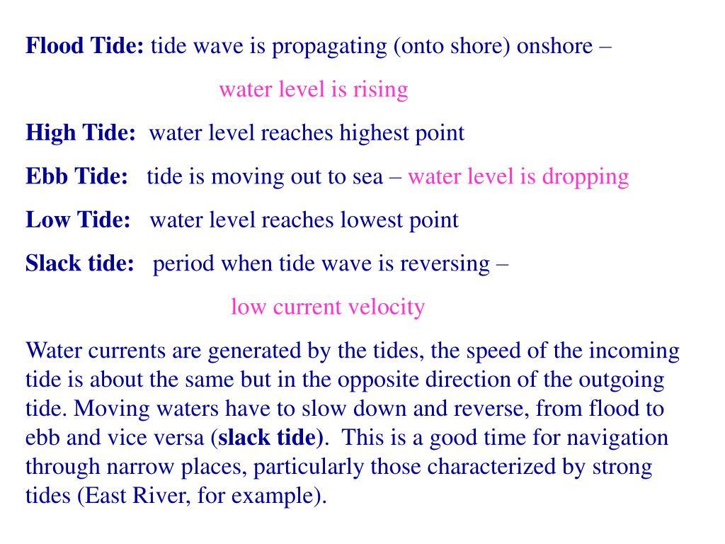 Flood Tide: