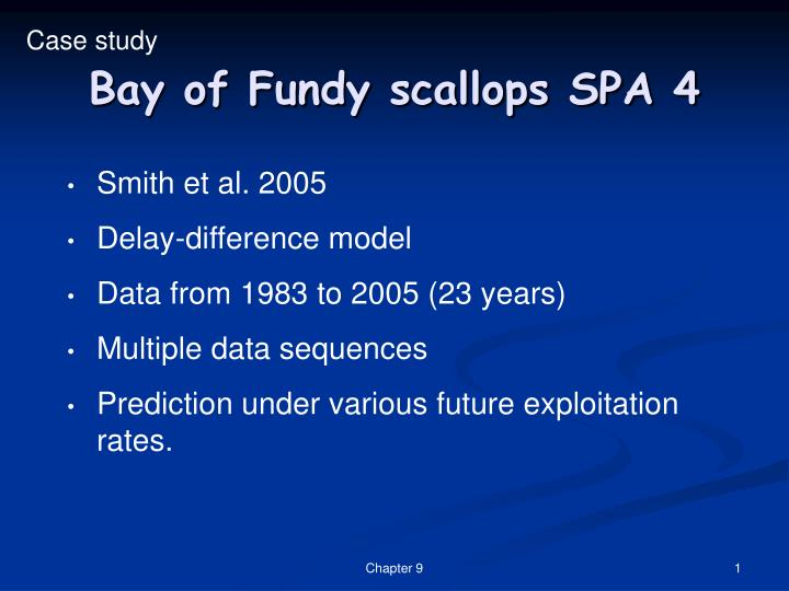 Bay of fundy scallops spa 4