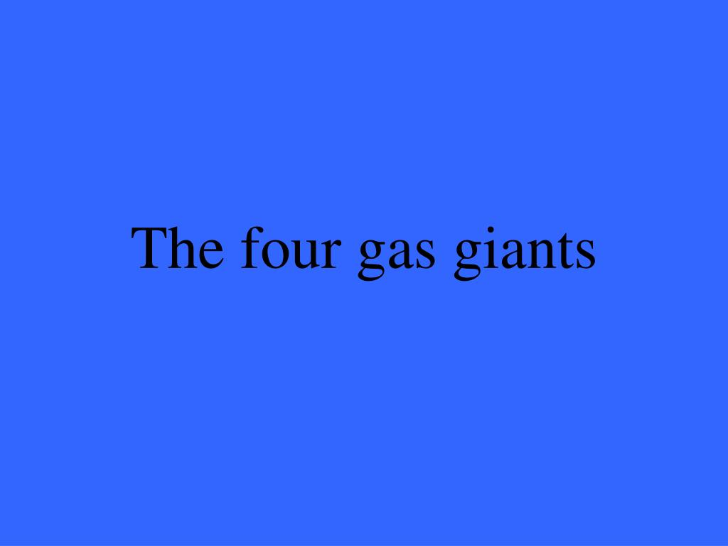 all four gas giants - photo #33