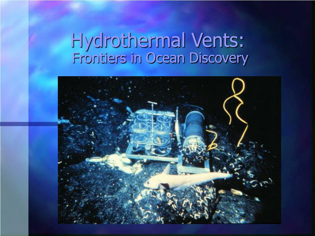 Hydrothermal Vents: