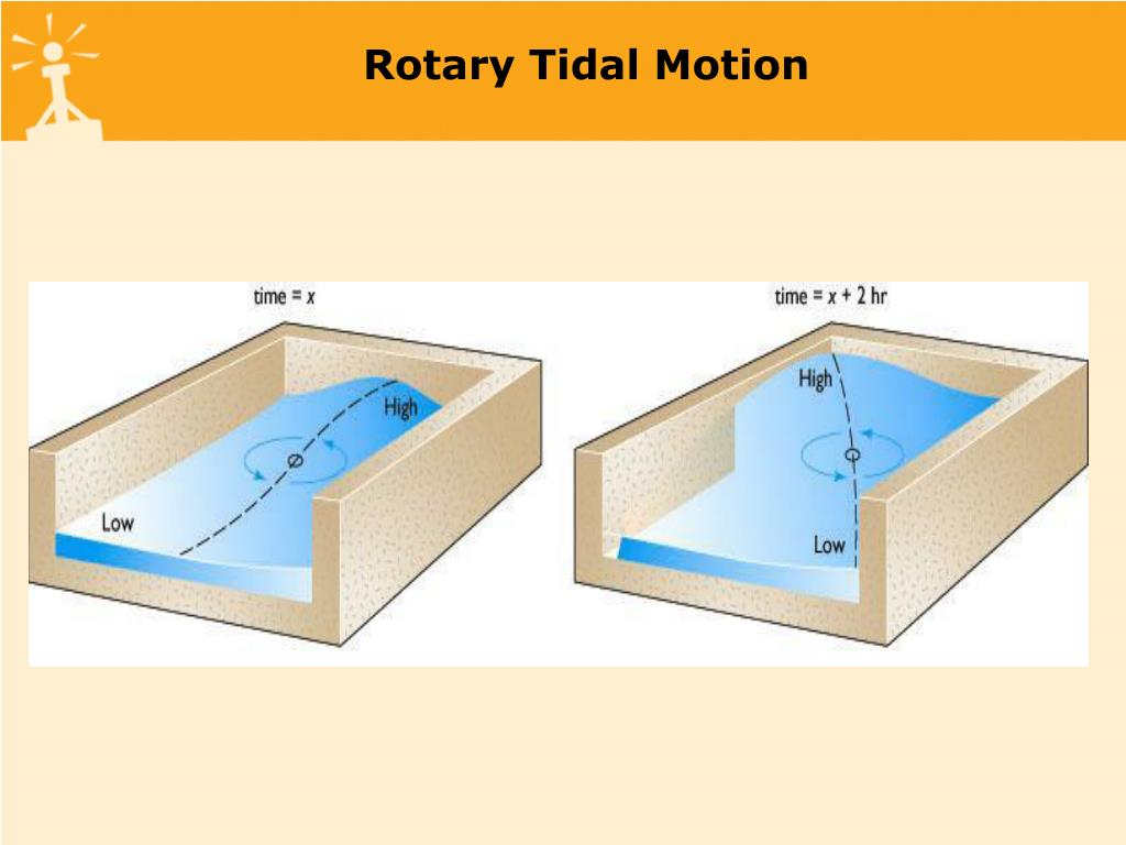 Rotary Tidal Motion
