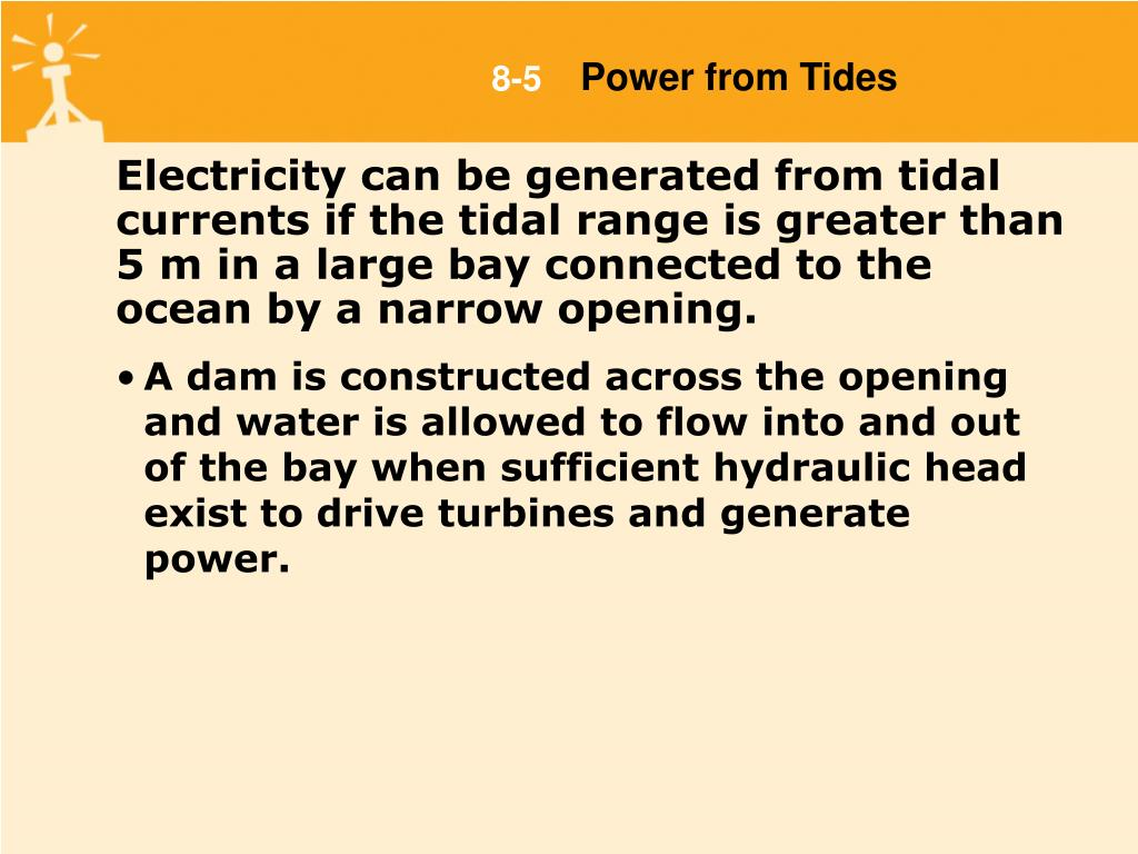 Power from Tides