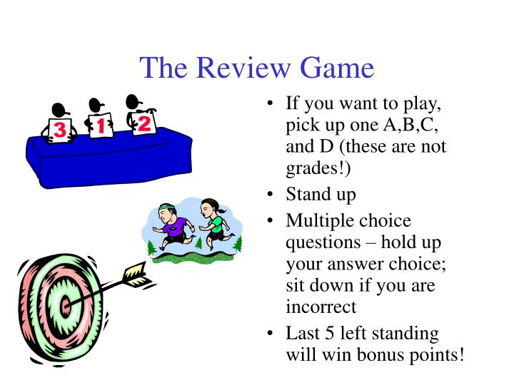 The review game