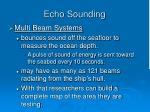 echo sounding6