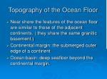topography of the ocean floor10