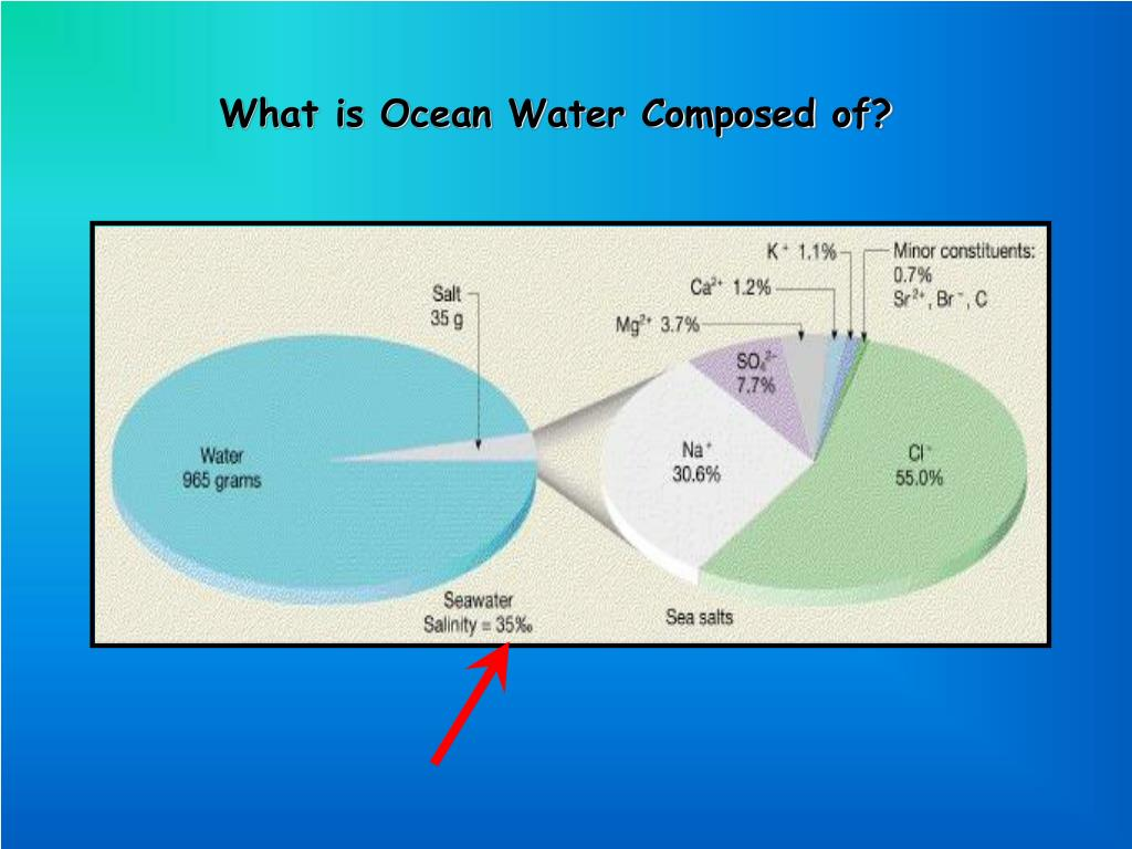 What is Ocean Water Composed of?