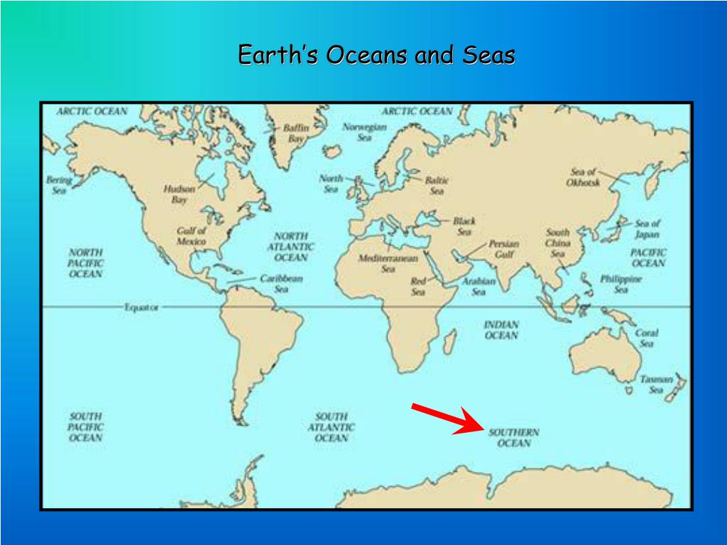 Earth's Oceans and Seas