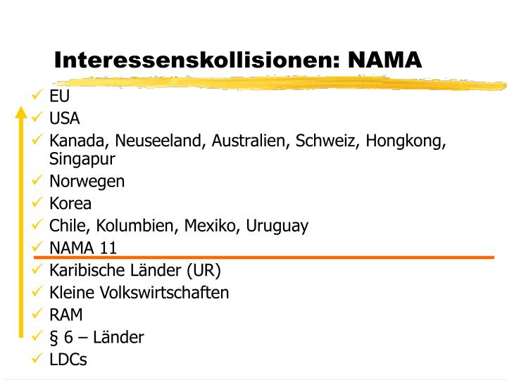 Interessenskollisionen: NAMA