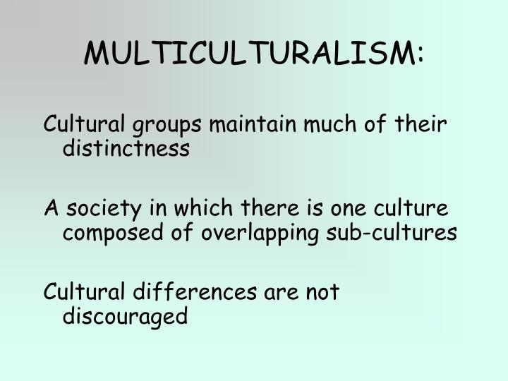 MULTICULTURALISM: