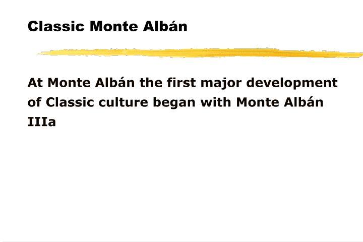 Classic Monte Albán
