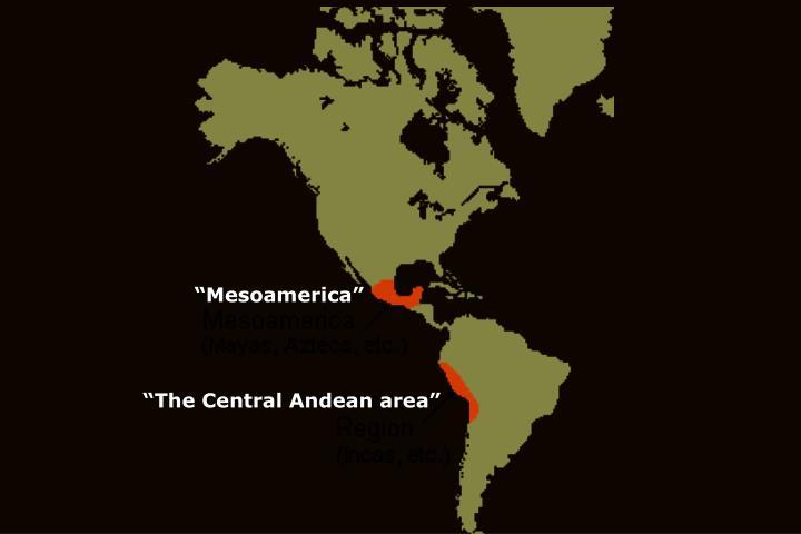 """Mesoamerica"""