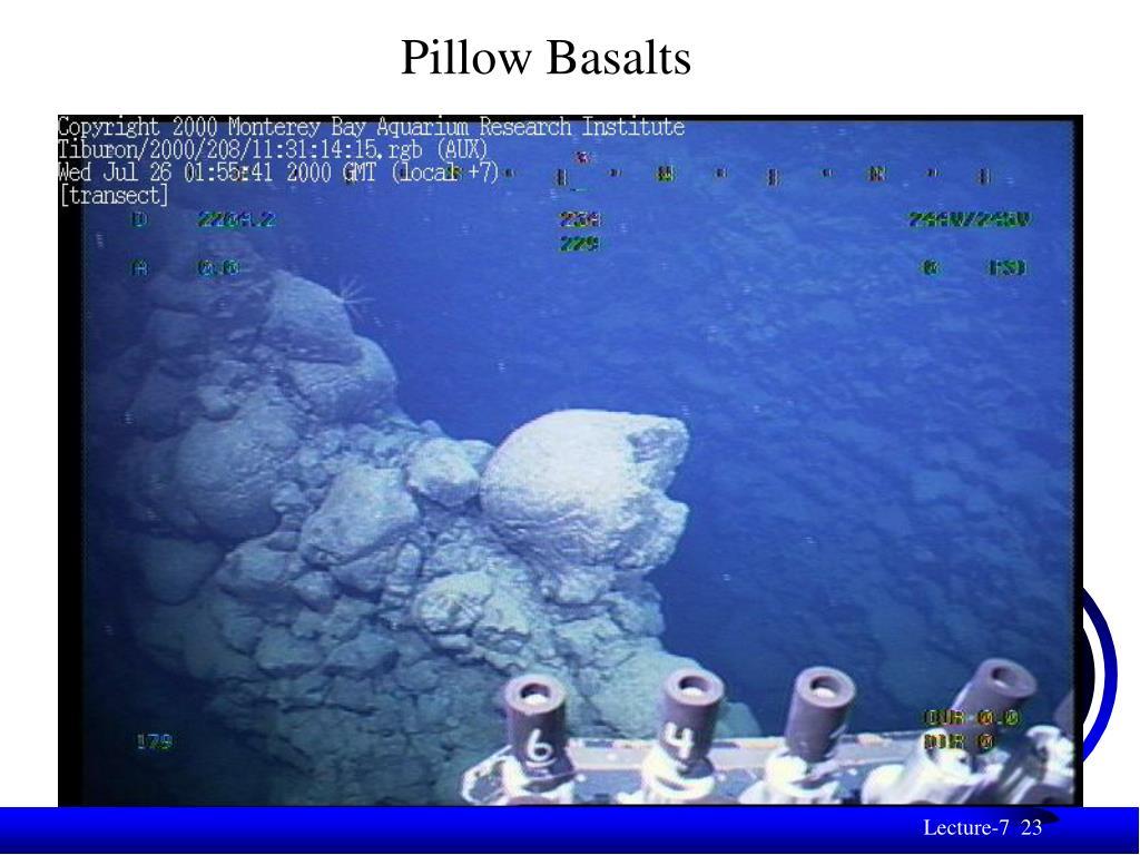 Pillow Basalts