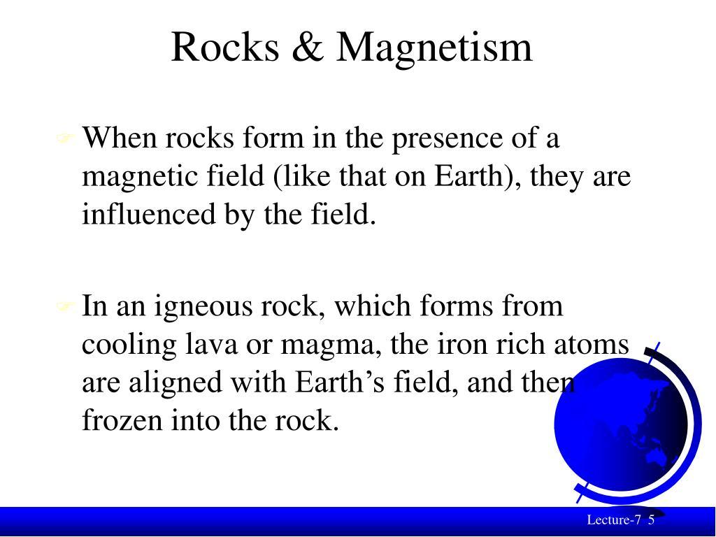 Rocks & Magnetism