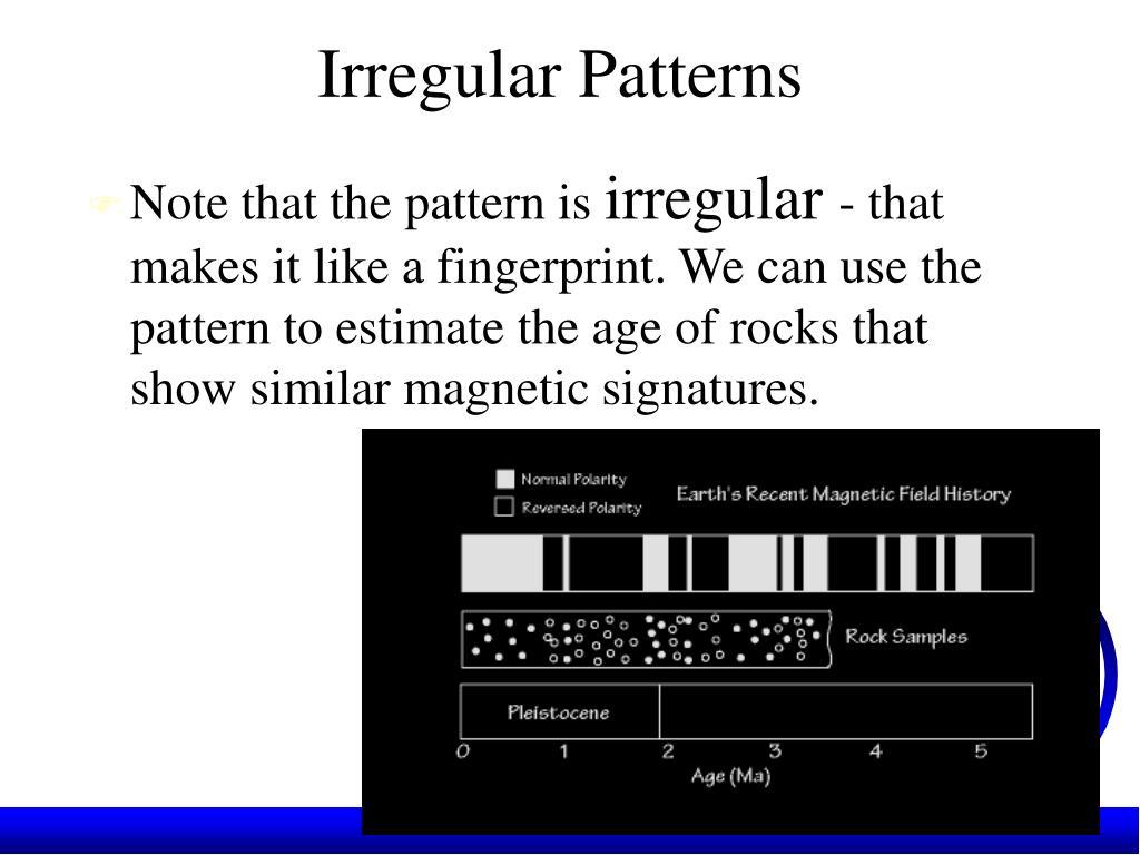 Irregular Patterns