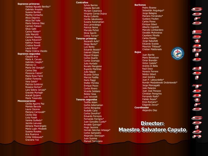 Coro Estable del Teatro Colón