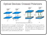 optical devices crossed polarizers